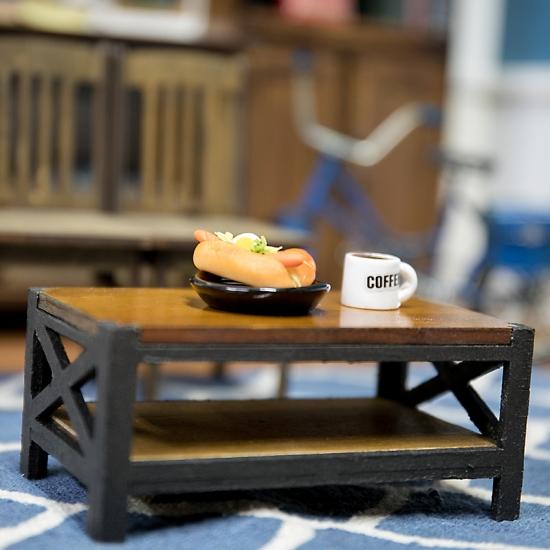 アイアン風コーヒーテーブル